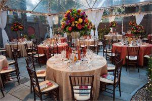 Garden during Global Leadership Awards Dinner
