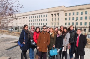 Pentagon Visit Picture