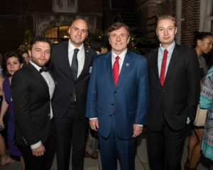 Serbians Residents with Congressman Fleming