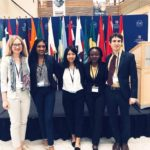 ISH-DC Delegation Participate in Model G20 Summit at AU